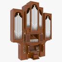 Organ 3D models