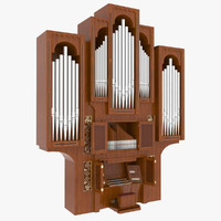 3ds max pipe organ