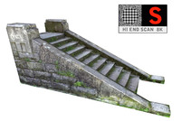 medieval Stairs Game Ready