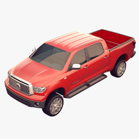 3d model toyota tundra