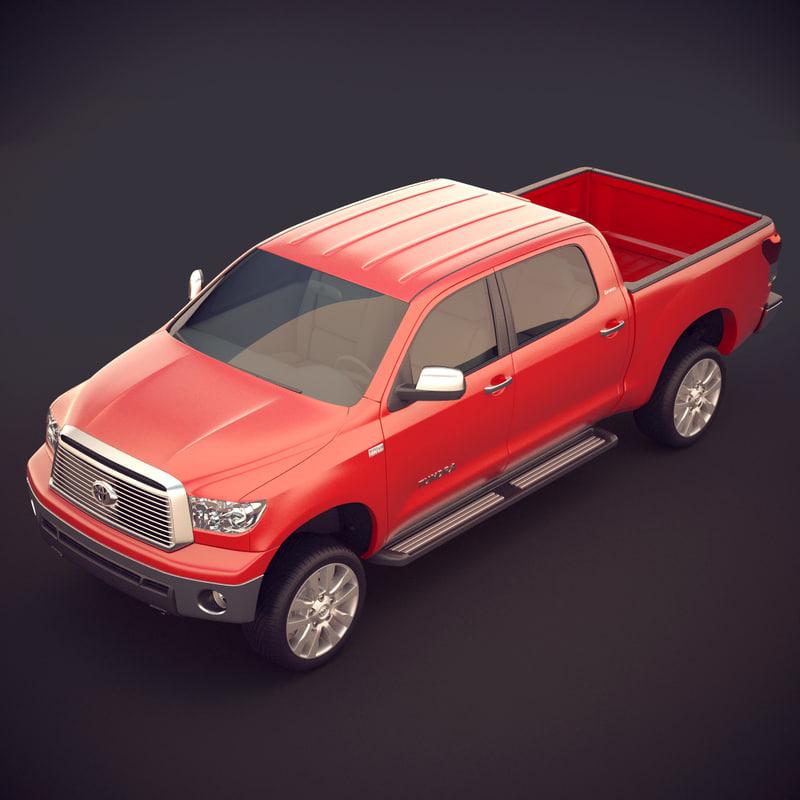 3d model toyota tundra