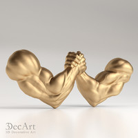 3D model of a handshake | Ld_002
