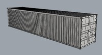 container 40 3d model