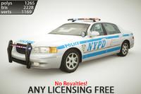 Generic Police Sedan v1