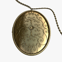 max gold pendant