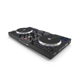 dj mixer control air 3d max