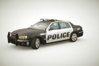 Generic Police Sedan v2