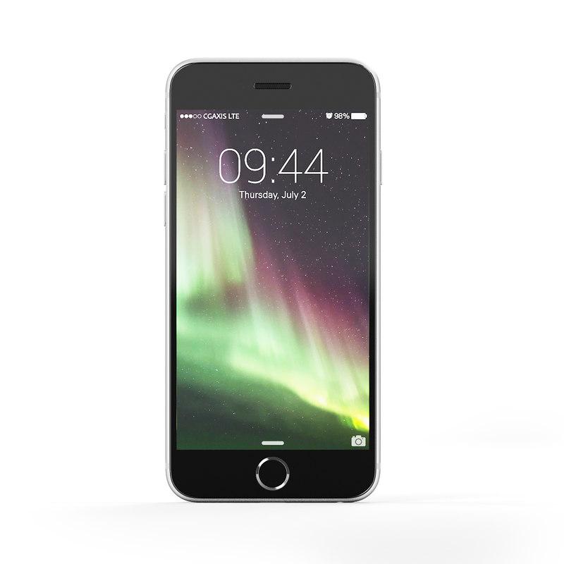3d smartphone black