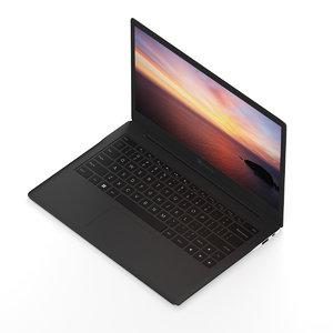 3d black notebook