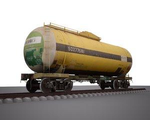 railway tank car 3d max
