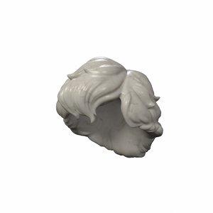 hair marble 3d max