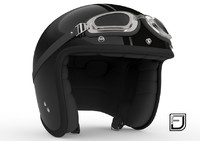 Black R Helmet H09