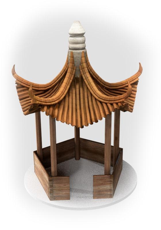 fbx pagoda