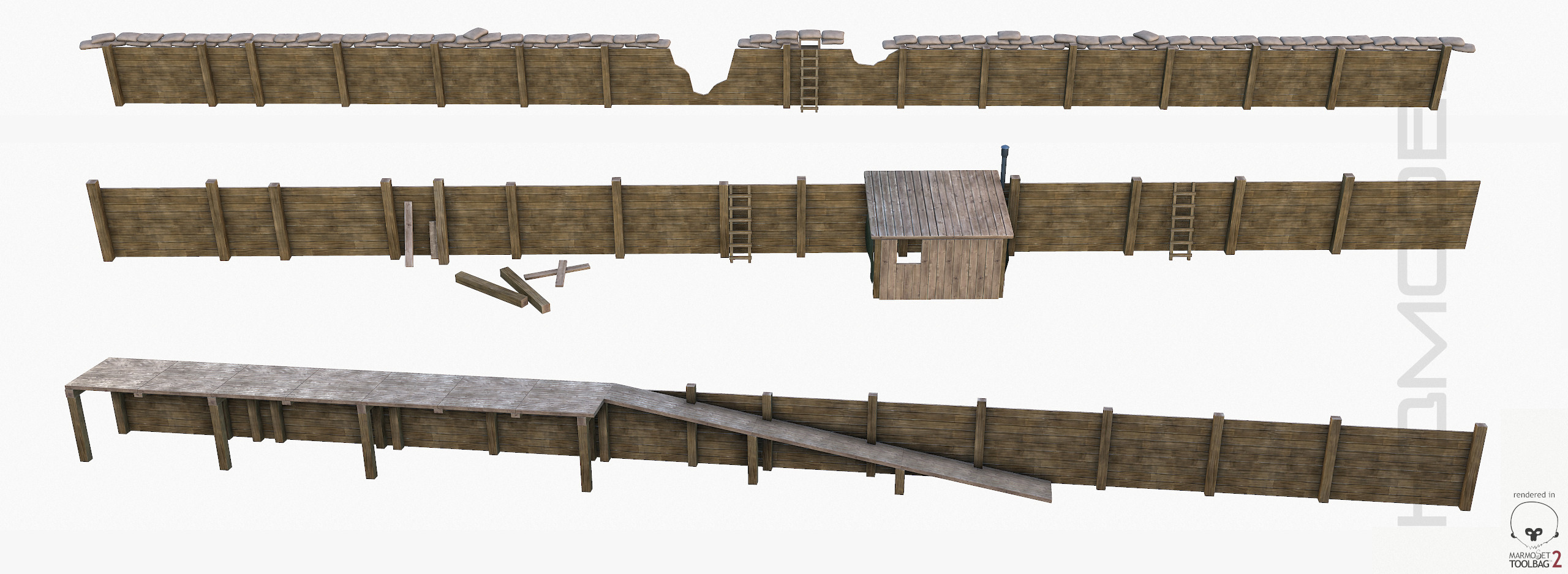 3d modular trench ready