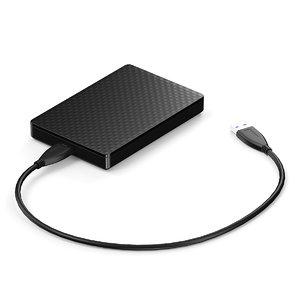 3d black portable model