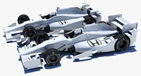 Indycar Honda road+oval aero kit