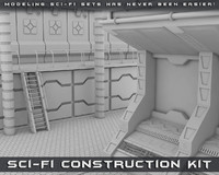 sci-fi construction kit obj