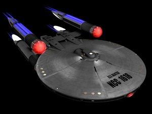 3d model uss galactica galactic