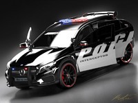 Mercedes Benz GLA Police Highay Patrol