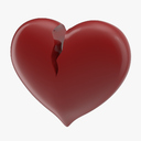 Broken Heart 3D models