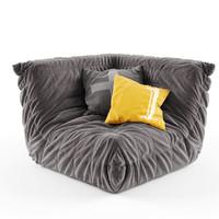 soft folds 3d model