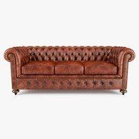 William Blake Sofa Chesterfield Leather