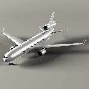 3d plane model