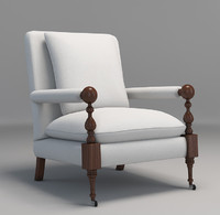 chair cr laine bradstreet 3d max
