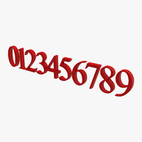 max new roman numbers