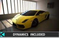 gallardo dynamics car 3d model