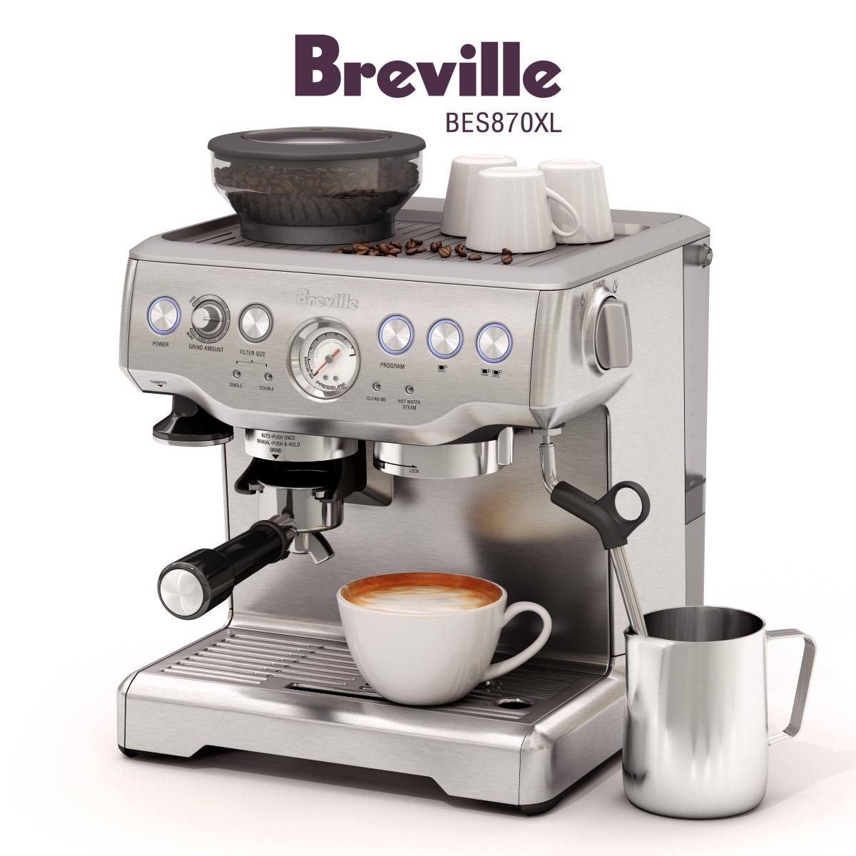 Breville Barista Express Bes870xl