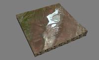 mesh soda lake 3d model