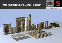 Ancient Architecture Pack 24
