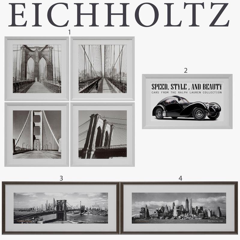 3d eichholtz prints model