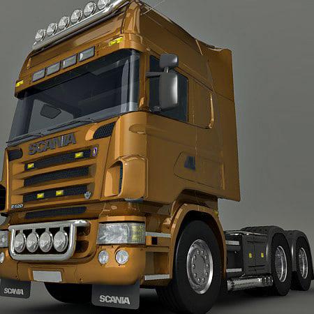 3d model heavy truck wheels