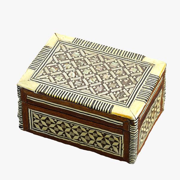 realistic ivory box 3d max