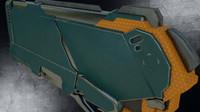 Sci-Fi Gun PBR
