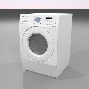 washer dryer 3d c4d