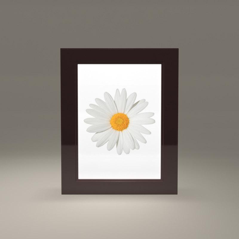 free obj model picture frame