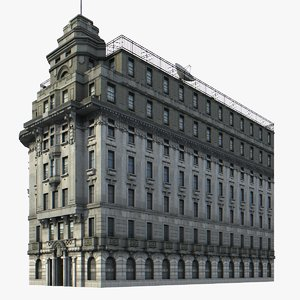 3d model china building