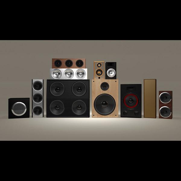 3d speaker set