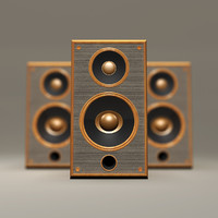 Vintage Bookshelf Speakers