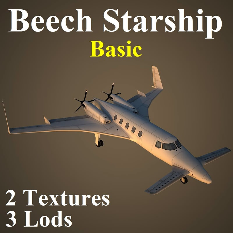 max beechcraft starship basic