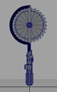 ma weapon tool circular blade