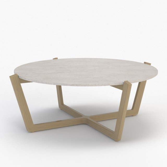 3d atlas coffee table model