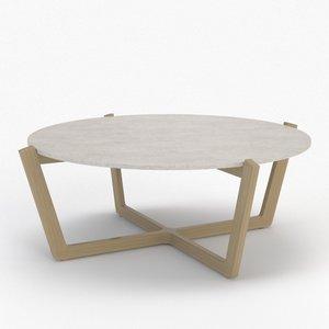 3d atlas coffee table model