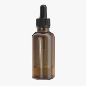 dropper medicine bottle 3d c4d