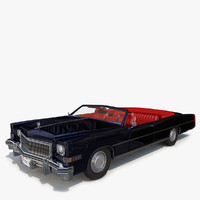 cadillac eldorado 74 issue 3d 3ds