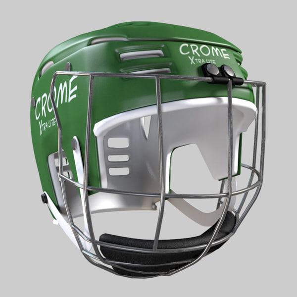 3d hurling helmet