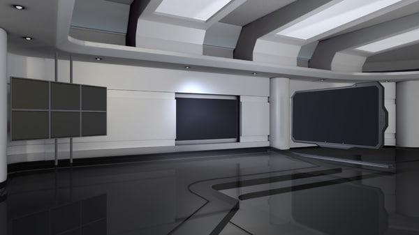 maya blank virtual set